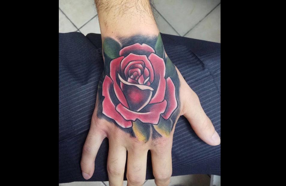 קעקוע ורד