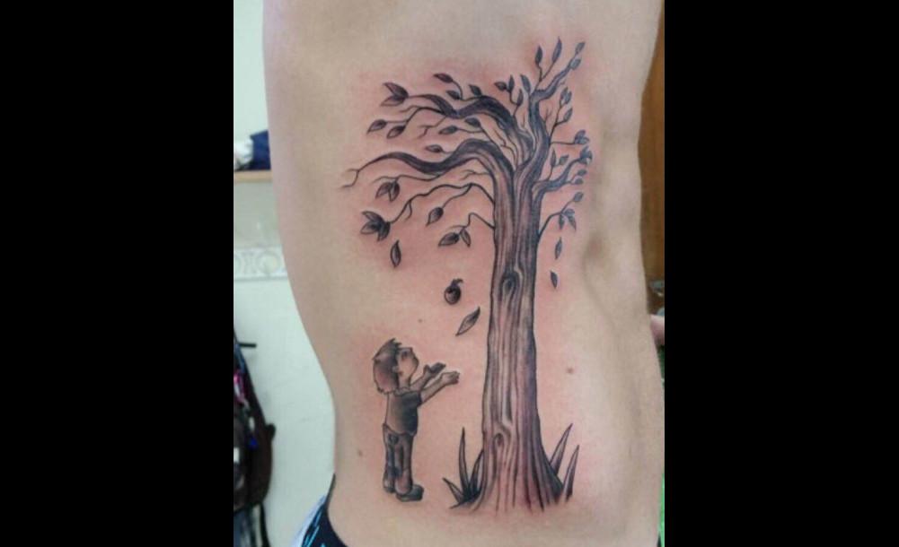 tattoo העץ הנדיב
