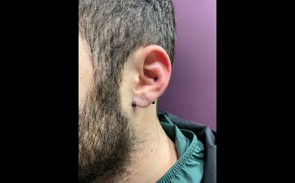 פירסינג באוזן